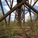 Eisenbahnbrücke über den Hudson-River