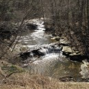 Creek zum Lake Erie