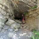 Karin die Höhlenforscherin