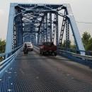 Brücke über den Ohio-auf Gitterrost