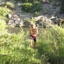 Bad im Colorado-River