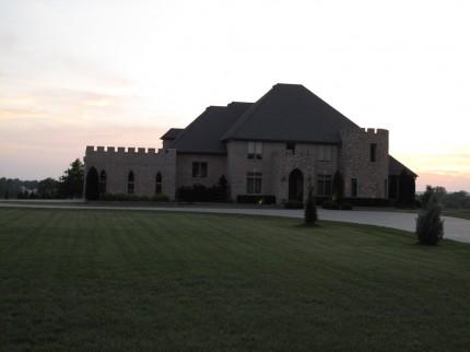 kleiner Palast im Nirgendwo in Kansas