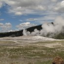 Old Faithful- zwischen den Eruptionen