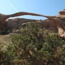 der längste Steinbogen, 1991 ist ein großes Stück ausgebrochen