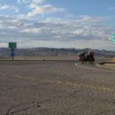 Auffahrt auf die Interstate