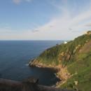 Atlantikküste Spanien kurz hinter der Grenze