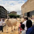 Viehmarkt mitten in der Stadt