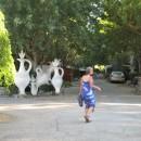 Skulpturencampingplatz