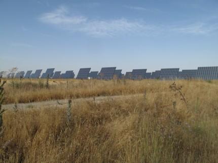 Fotovoltaik -Anlage mit 9 MW