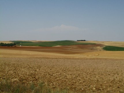 Farbverläufe in der Landschaft