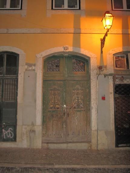 Haustür für Detlef