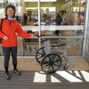 Einkaufs-Rollstuhl