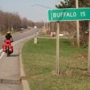 """15 Meilen bis Buffalo"""