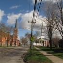 5 Kirchen an einer Kreuzung