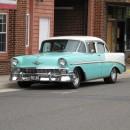 29 Nochmal Chevrolet. Warum dieser Wagen BelAir-gute Luft heißt...der Motor lief, den Sound hätte man aufnehmen müssen