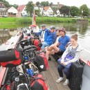 Weserüberfahrt vor Bad Karlshafen